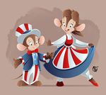 An American Tail: 4th of July! by BrisbyBraveheart