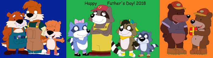 Happy Father's Day 2018 by JustinandDennis