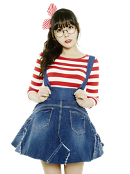 Raina (Orange Caramel) PNG Render by classicluv