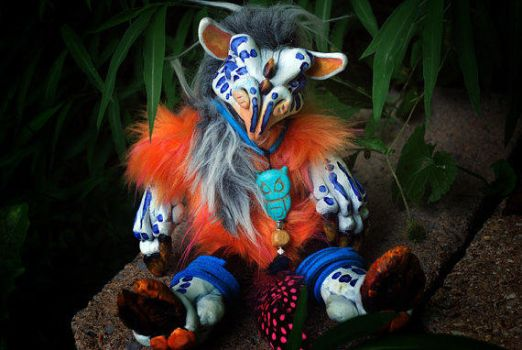 Ziiro the Troll Youngling - Sold! by dmbest