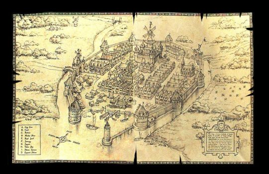 Ye Olde Towne Mappe by scratchmark
