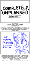 Completely Unplanned the comic by freelancemanga