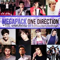 Megapack 100 +Watchers Dia 5 One Direction. by IllusionNeverChange