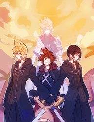 Sora's Guardians by qbaysan