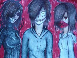three Face Anne the Killer by 6HB
