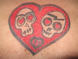 Calaveras Enamoradas by blackpixifotos