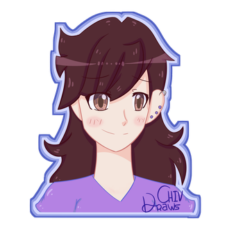 Jaiden Animations Fanart by ChivDraws