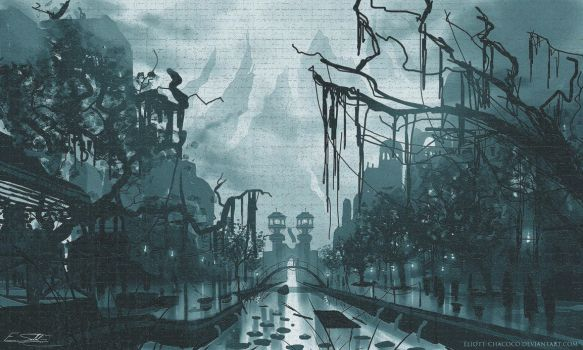 Swamp City by Eliott-Chacoco