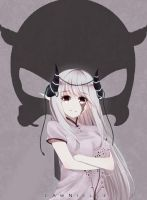 White Haired Demon by LawNielleRIMM