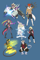 Pokemon- Fusion AU? (Pokeburst AU) by Gameaddict1234
