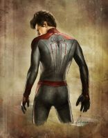The Amazing Spiderman by dewmanna