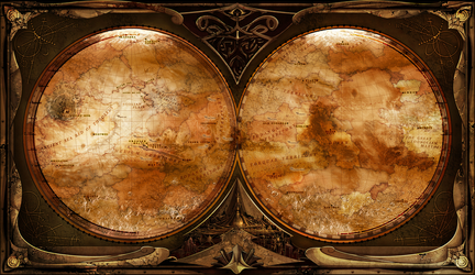 Map of Barsoom by Motion-Music