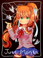 Just Monika. by Purinri