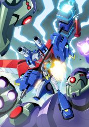 TFA Wingblade Optimus Prime by MarceloMatere