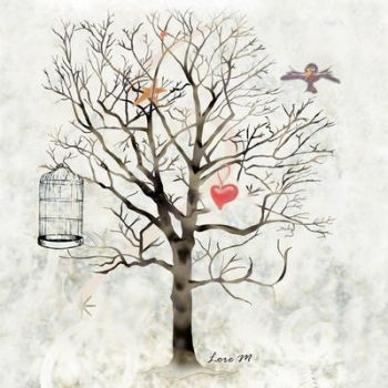 - Winter and hearts - by Lore-M