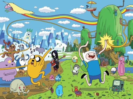Adventure Time Wallpaper by SaphireJewel