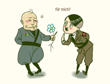 Axis Powers Love by Noiry