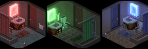 RGB Bathroom Sample Sets by lenstu82