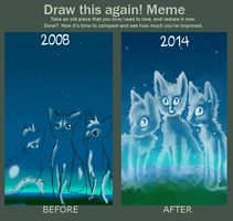 Before and After Meme by Flashpelt1
