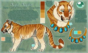 .: Ayla Ayola Official Sheet Ref 2014 :. by SillyTheWolf