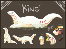 King the Glaurex ref by Boltonartist
