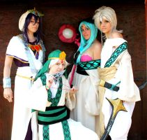 Magi - Team by Hancee