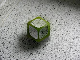 Lime Cubed by JeffHighwind