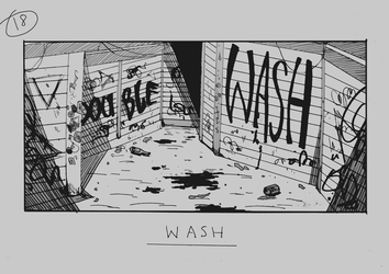 Day 18 - Wash by Inui-Purrl