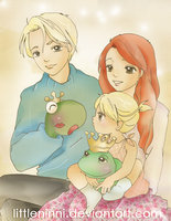 The Tale of the Frog Prince by LittleNinni