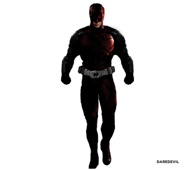 Michael C. Hall as DAREDEVIL - CONCEPT by MrSteiners