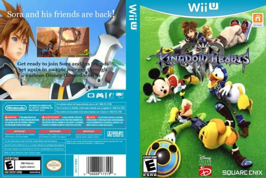 Kingdom Hearts 3 To The Wii U by malerfique