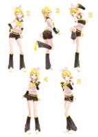 [MMD] Pose Pack 2 - DL by Snorlaxin