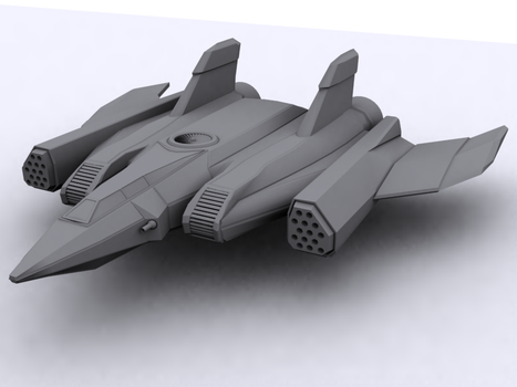 Aerospace Fighter Untextured by smokeTH