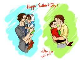 The Avengers-science bros-happy father's day by innocence777