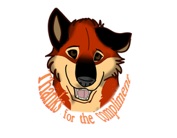 Thanks for the compliment sticker by Gerundive