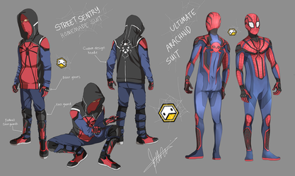 Spider-man CONCEPT Design 01 by DuckLordEthan