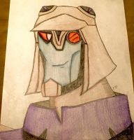 Blitzwing (Colored) by GhostFreak-Artz