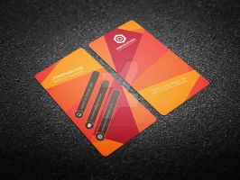 Creative Business Card Template On Graphicriver by Cristalpioneer
