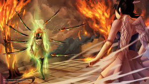 CG Commission- Enraged Penny by ARSONicARTZ