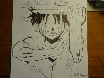 Luffy!(One Piece) by TheCobaltAssassin