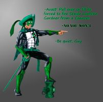 Green Lantern- Pirate Costume by The-Primal-Clark