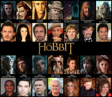 Hobbit: Keep Learning The Cast by Kumama