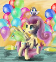 Party shy by SuperRobotRainbowPig