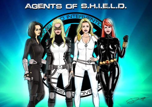 Agents of S.H.I.E.L.D by DiToledo26