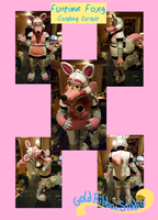 Funtime Foxy Fursuit by jolteon-kitty