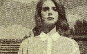 Lana del rey engraved by le-rat-et-l-ours