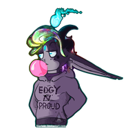 Edgy N' Proud Is right by Dierinks