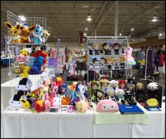 Anime North Art Table 2012 by Serenity-Sama