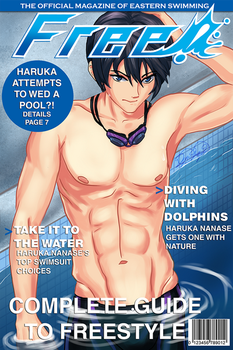 Haru Magazine Cover by Lualapin