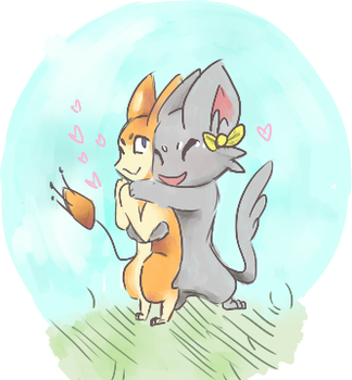 I haven't drawn in forever by RascalWabbit